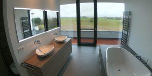 Modernes Bad mit Mosa Fliesen